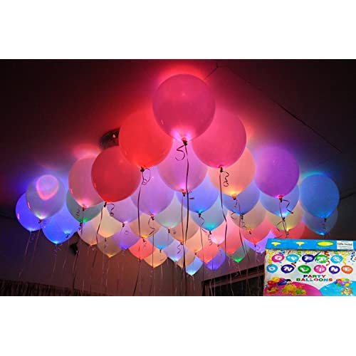 Jiada LED Balloons For Party Festival Celebrations Set Of 25