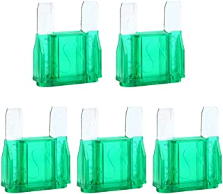 5 Pcs 30 Amp Large Blade Style Maxi Fuse for Car RV Boat Auto