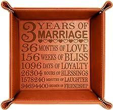 Amazon Com 3rd Wedding Anniversary Gifts