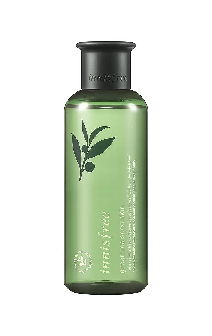 鳩ビヨンホットイニスフリー日本公式(innisfree) グリーンティーシード スキン[化粧水]200mL