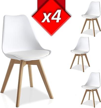 Amazon.es: mesas y sillas de comedor baratas - Madera / Sillas ...