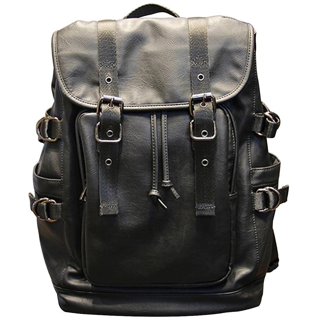 毛皮マウントバンク我慢する高級 革 リュックサック バッグ バック バックパック メンズ レディース レザー 皮 鞄 通勤 通学 軽量 大容量
