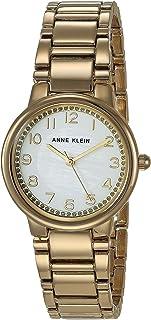 Anne Klein Women's Glitter Accented Easy to Read Bracelet Watch, AK/3605