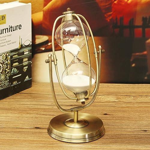 online barato MASUNN 30 Minutos Rolating Rolating Rolating Sand Reloj De Arena Sandglass Arena Reloj Temporizador De La Habitación De Casa Decoraciones Regalo  la mejor selección de