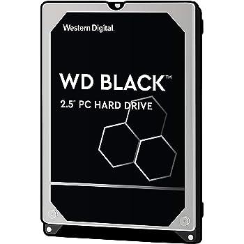 WD HDD 内蔵ハードディスク 2.5インチ 500GB WD Black WD5000LPLX  SATA3.0 7200rpm 32MB 7.0mm 5年保証