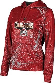 Rose Bowl Champions 2019 - Ohio State University Women's Pullover Hoodie, School Spirit Sweatshirt (Splatter)