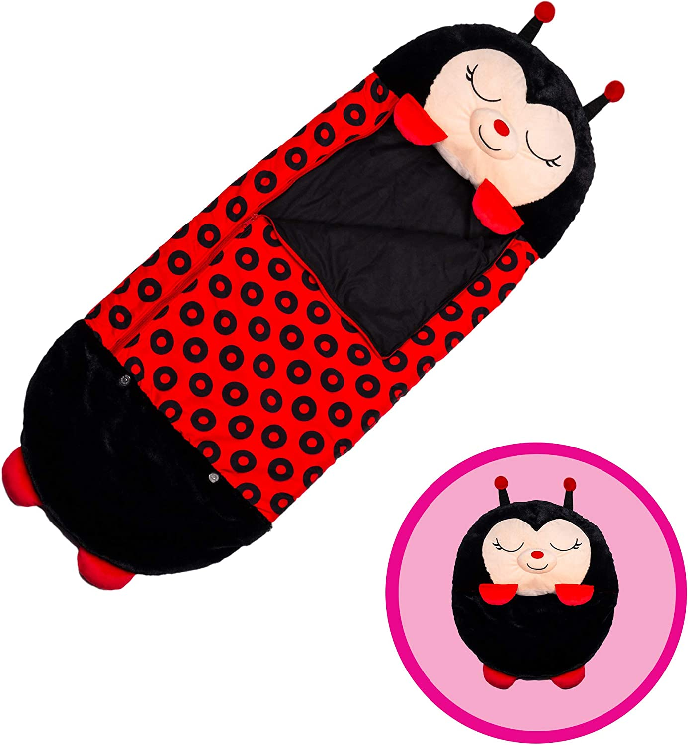 """54 x 20/"""" Washable 2-in-1 Pillow Warm Sleeping Bag Animal-shape Pillow Comfortable Super Soft Cushion for 4-Season Happy Nappers Pillow"""