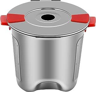Reusable K Cups for Keurig 2.0 & 1.0 Coffee Maker - Stainless Steel Keurig Reusable Pod - Universal Refillable Keurig Coffee Filter BPA FREE (1 PACK)
