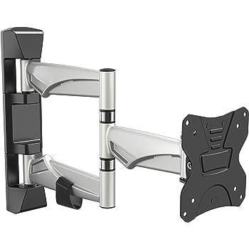 RICOO S3211, Soporte Monitor Pared, Giratorio, Inclinable, Pantalla TV 15-32