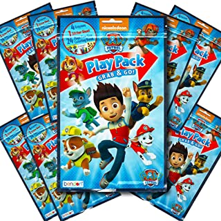 Paw Patrol BashBox Play Pack Grab & Go Children's Coloring & Activity Party Favor Bundle (8 Packs)