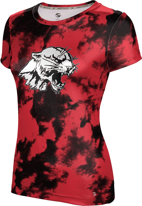 ProSphere Red Mountain High School Girls' Performance T-Shirt (Grunge)