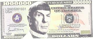 Set of 5 - Leonard Nimoy Star Trek Spock Collectible Million Dollar Bill