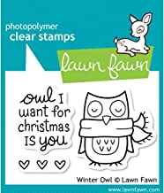 Winter Owl Stamp Set // Lawn Fawn