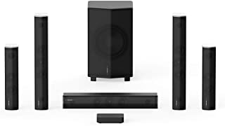 Enclave CineHome PRO 5.1 HD Wireless Home Theater Surround Sound System for TV - THX, 24 Bit Dolby Digital, DTS, and WiSA ...