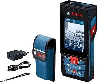 Bosch Professional Medidor láser de distancia GLM 120 C, cámara integrada, transmisión de datos Bluetooth, distancia hasta...