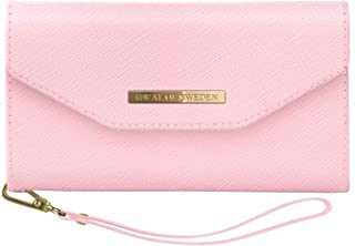 iDeal Of Sweden Mayfair Clutch for iPhone X & XS (Pink, Detachable Strap, Magnetic Phone Case w/Card Slots)