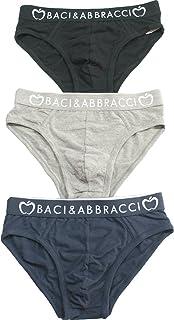 acquisto autentico uomo vendita più calda Amazon.it: Baci & Abbracci - Intimo / Uomo: Abbigliamento