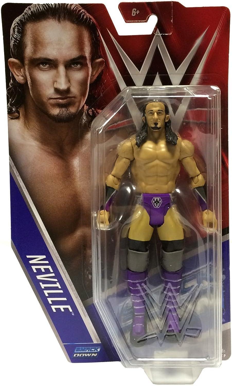 Official Mattel WWE Basic Series 61 Smackdown Neville Figure