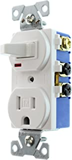 Best hubbell switch receptacle combo Reviews