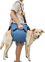 COODEO Dog Carry Sling, Emergency Backpack Pet Legs Support & Rehabilitation Dog Lift Harness for Nail Trimming, Dog Carri...