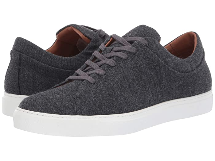 Aquatalia  Alaric (Navy Soft Wool) Mens Lace up casual Shoes