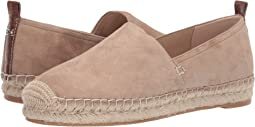 Warm Taupe Kid Suede Leather