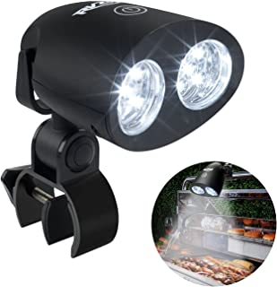 RVZHI Barbecue Grill Light, 360°Rotation for BBQ with 10 Super Bright LED Lights- Heat Resistant,Waterproof,100lm LED BBQ Light for Gas/Charcoal/Electric Grill-Battery Not Include-02