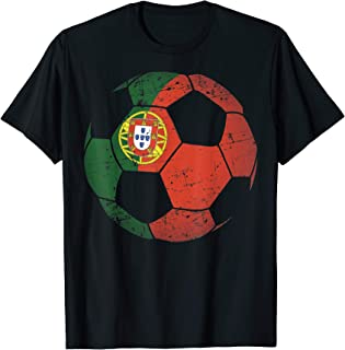Portugal Soccer Ball Flag Jersey Shirt - Portuguese Football