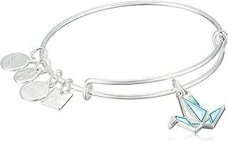 Alex and Ani Charity by Design, Paper Crane EWB Bangle Bracelet