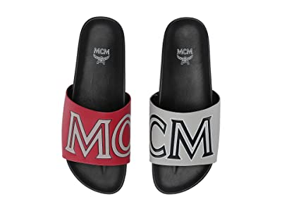 MCM Contrast Logo Slide (Red) Men