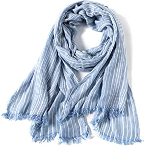 Cotton Scarf Shawl Wrap Soft Lightweight Scarves And Wraps For Men And Women
