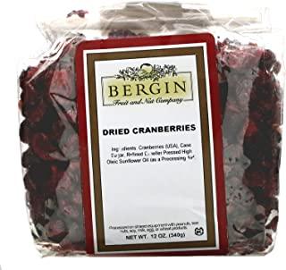 Bergin Fruit and Nut Company Dried Cranberries, 12 oz (340 g)