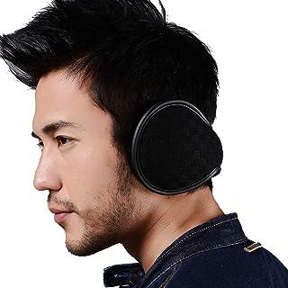 Ear Warmers Foldable for Men Women Fleece Unisex Winter Earmuffs Outdoor