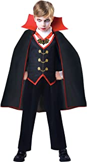 amscan Boys Dracula Costume, Medium (8-10)- 2 pcs., Multicolor
