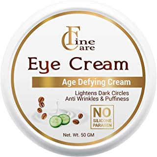 Finecare Eye Cream for Dark Circles for Women And Men - Anti Aging Reduce Fine Line Wrinkles And Puffiness 50grm