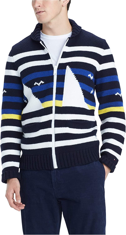 Tommy Hilfiger Mens Coastal Cardigan Sweater