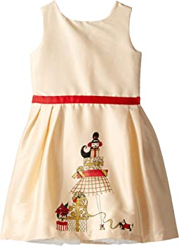 Holiday Presents Party Dress (Toddler/Little Kids/Big Kids)