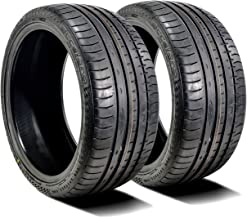 Set of 2 (TWO) Accelera Phi High Performance All-Season Radial Tires-265/35ZR19 98Y XL