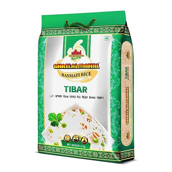 SHRILALMAHAL Tibar Basmati Rice 5 Kg