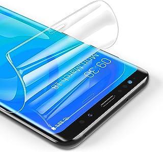 RIWNNI [3 Pezzi Pellicola Protettiva per Samsung Galaxy S8 Plus, Ultra Sottile Morbido TPU Pellicola Copertura Completa Pr...