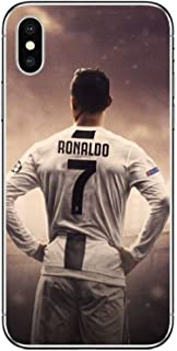 Soccor Football Player Star Cristiano Ronaldo cr7 Case for iPhone 7 8 X XR XS MAX Plus Phone case Cover (7, iPhone 7 8 Plus)