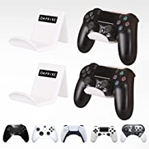 OAPRIRE Game Controller Wall Mount Holder Stand (4 Pack) for PS4 PS5 Xbox ONE STEAM Switch PC, Universal Gamepad Controlle...