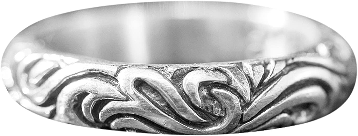 Aienid Men Rings Sterling Silver Wedding Popular Opening large release sale standard Ri for Tail Bands Women