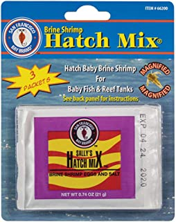 San Francisco Bay Brand ASF66200 Brine Shrimp Hatch Mix for Baby Fish and Reef Tanks