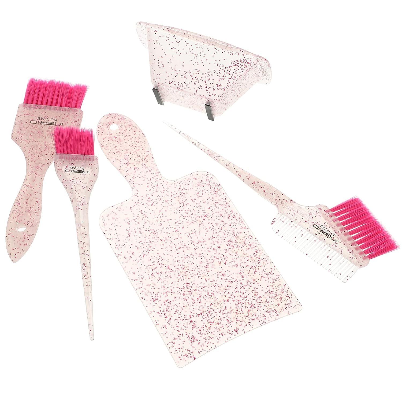 OSALADI 5Pcs Salon Color- Mixing Hair- Hair Bru Mail Max 70% OFF order Dyeing Kit Color