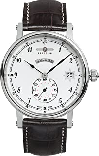 Zeppelin Watches Women's Quartz Watch 7543-1 with Leather Strap