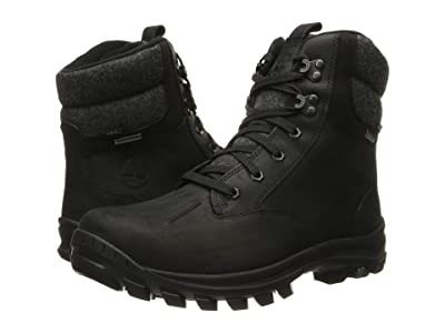 Timberland Chillberg Waterproof Mid Boot (Black Full-Grain) Men