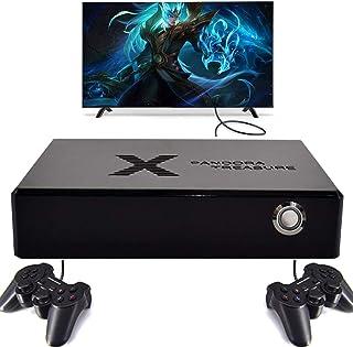 Console de Jeux Vidéo Arcade Pandora Box X, 3160 Jeux + Joystick 2Pcs, Console de Jeux Vidéo Retro 1280x720 FHD, Whatsko C...