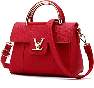 2ba35b7f86f53c Flap V Women's Luxury Leather Clutch Bag Ladies Messenger Bags Famous Tote  Bag