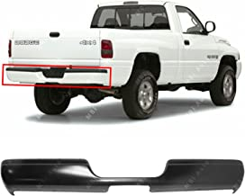 MBI AUTO - Primered, Steel Rear Bumper Face Bar for 1994-2002 Dodge RAM 1500 2500 3500 Pickup 94-02, CH1102170